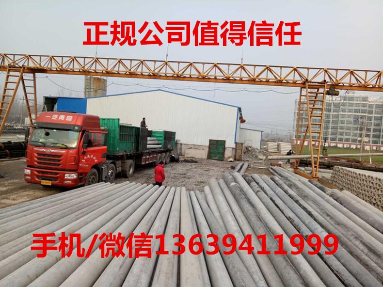 20170326渭南白水水泥电线杆供应