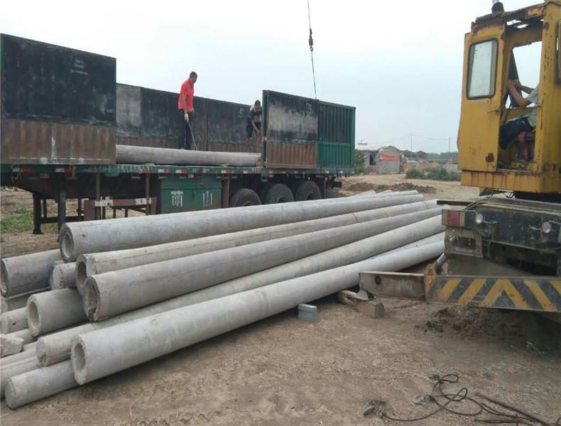 河南三门峡15米270/350大弯矩电杆25根根部法兰带基础钢筋笼子