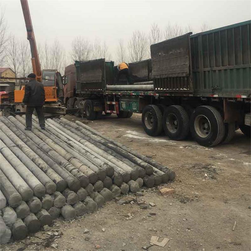 新乡15米钢筋混凝土电线杆和12米预应力电线杆运达地点