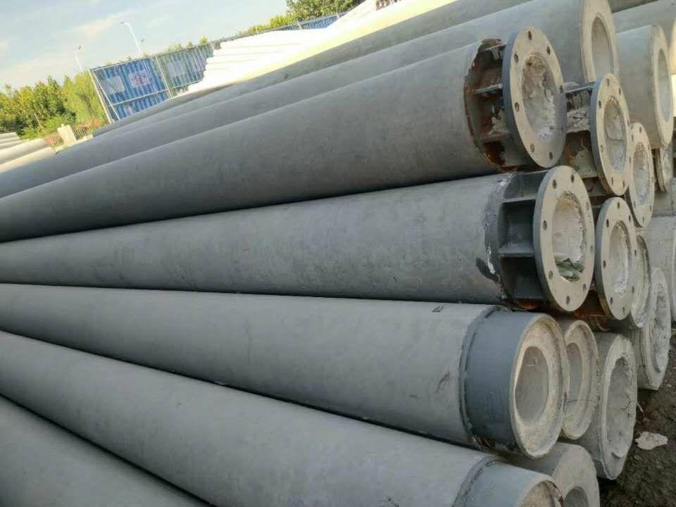 水泥电杆生产全过程